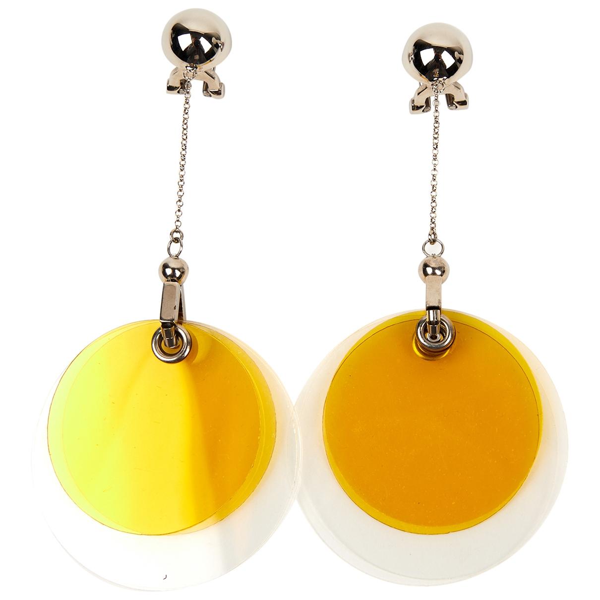 Prada - Boucles doreilles   pour femme - jaune