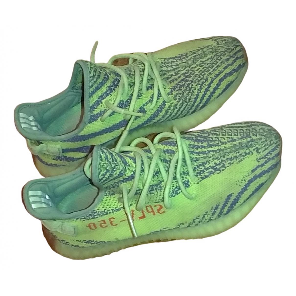 Yeezy X Adidas - Baskets Boost 350 V2 pour homme en caoutchouc - jaune