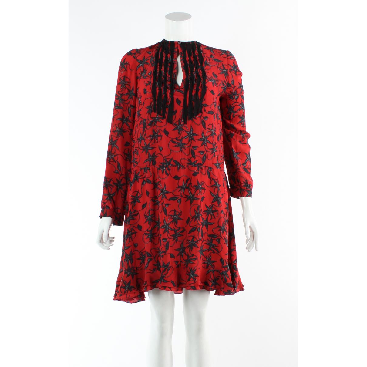 Zadig & Voltaire \N Red Silk dress for Women S International