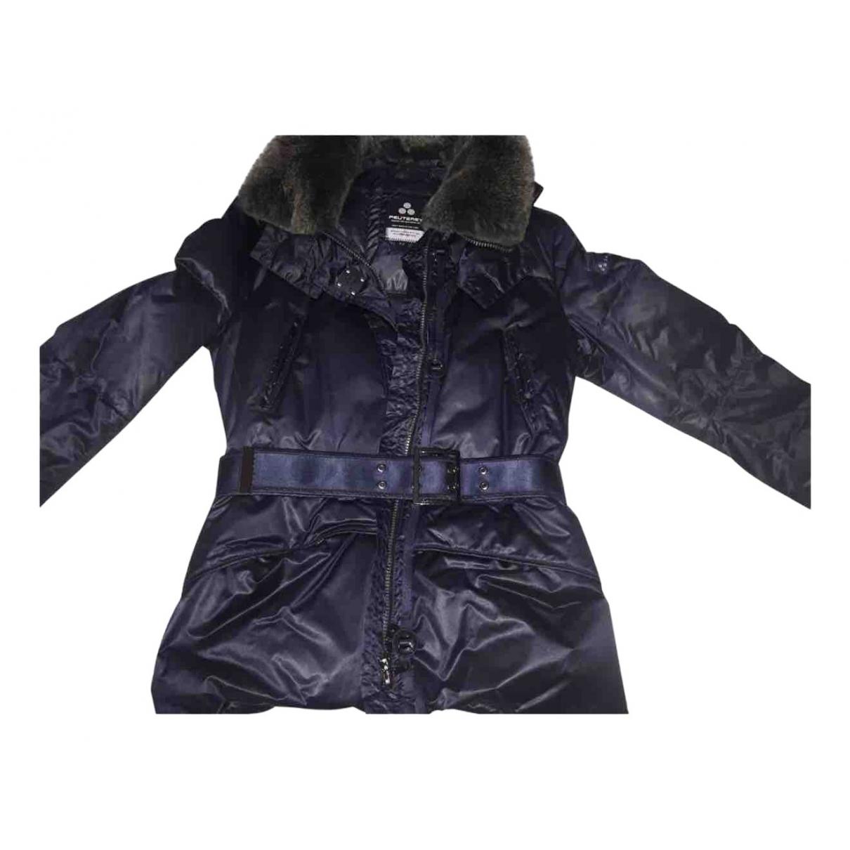 Peuterey - Veste   pour femme en laine - bleu