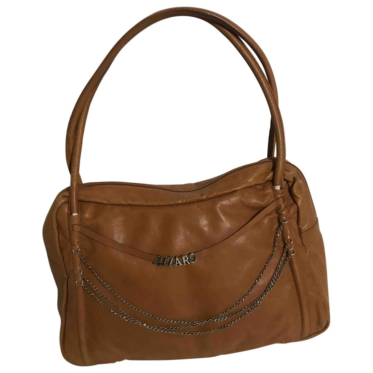 Azzaro \N Handtasche in  Kamel Leder