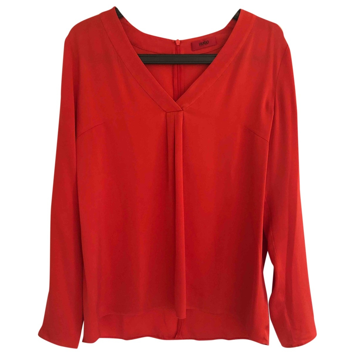 Hugo Boss \N Red Silk  top for Women 40 FR