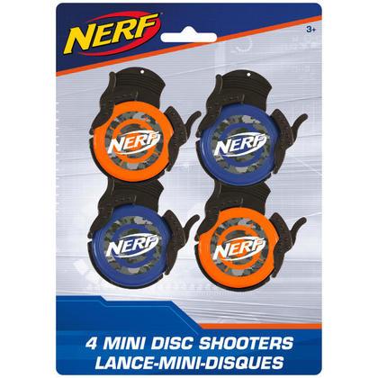 NERF 4 Disc Shooters Pour la fête d'anniversaire