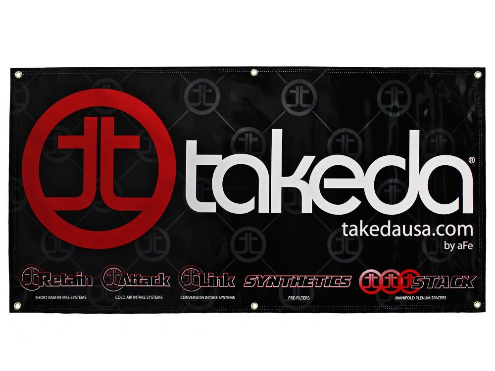 aFe Takeda Brand Display Banner 4 FT x 2 FT