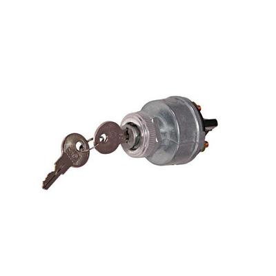 Omix-ADA Ignition Lock and Cylinder with Keys (Non-Polished) - 17250.01
