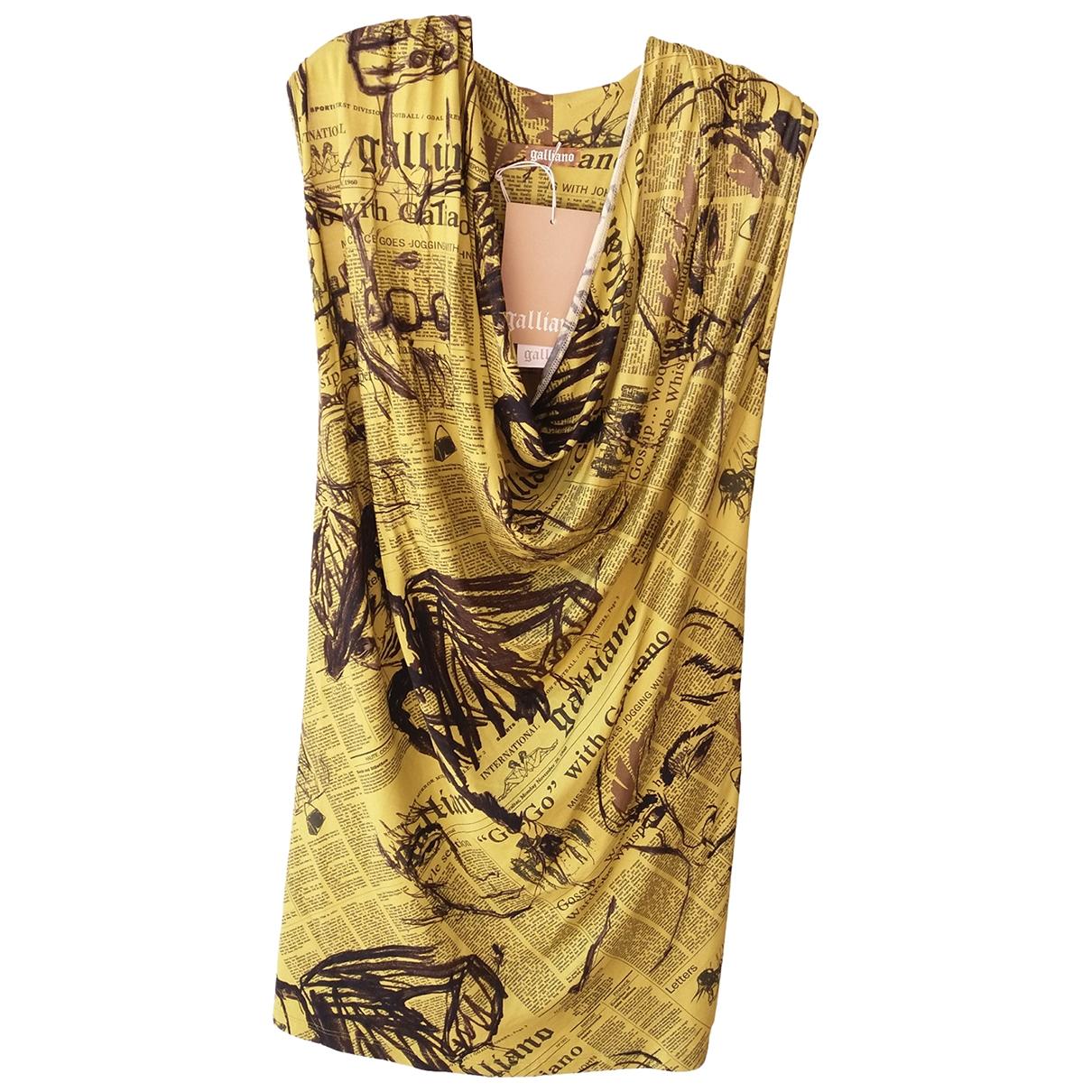 Mini vestido Galliano