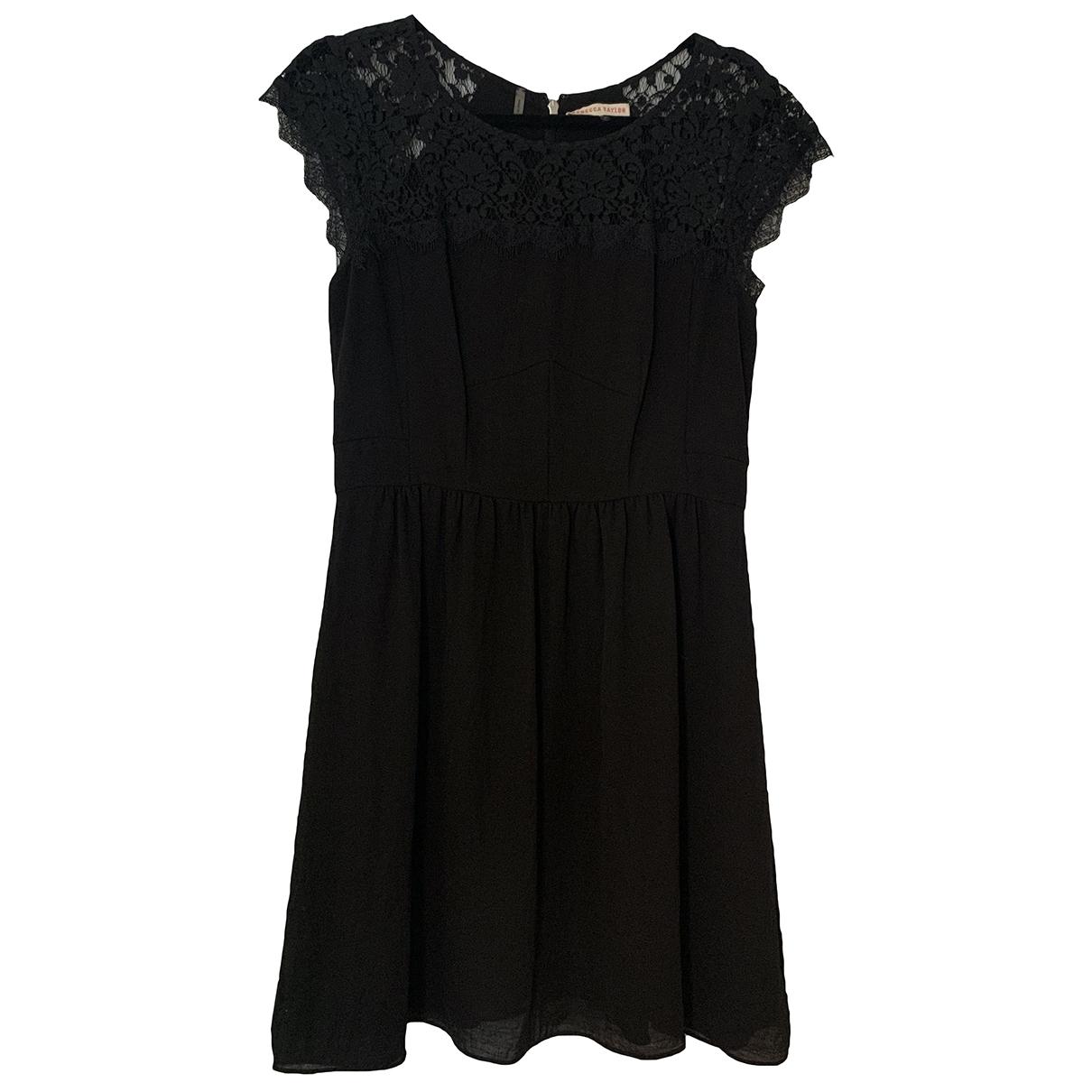 Rebecca Taylor \N Kleid in  Schwarz Polyester