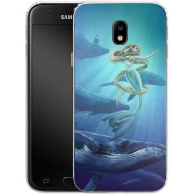 Samsung Galaxy J3 (2017) Silikon Handyhuelle - Ocean Song von Selina Fenech