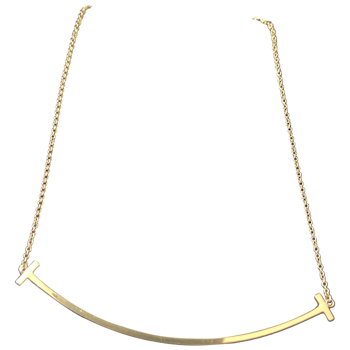 Tiffany & Co Tiffany T Kette in  Gold Gelbgold