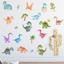 Kids Cartoon Dinosaur Print Wall Sticker