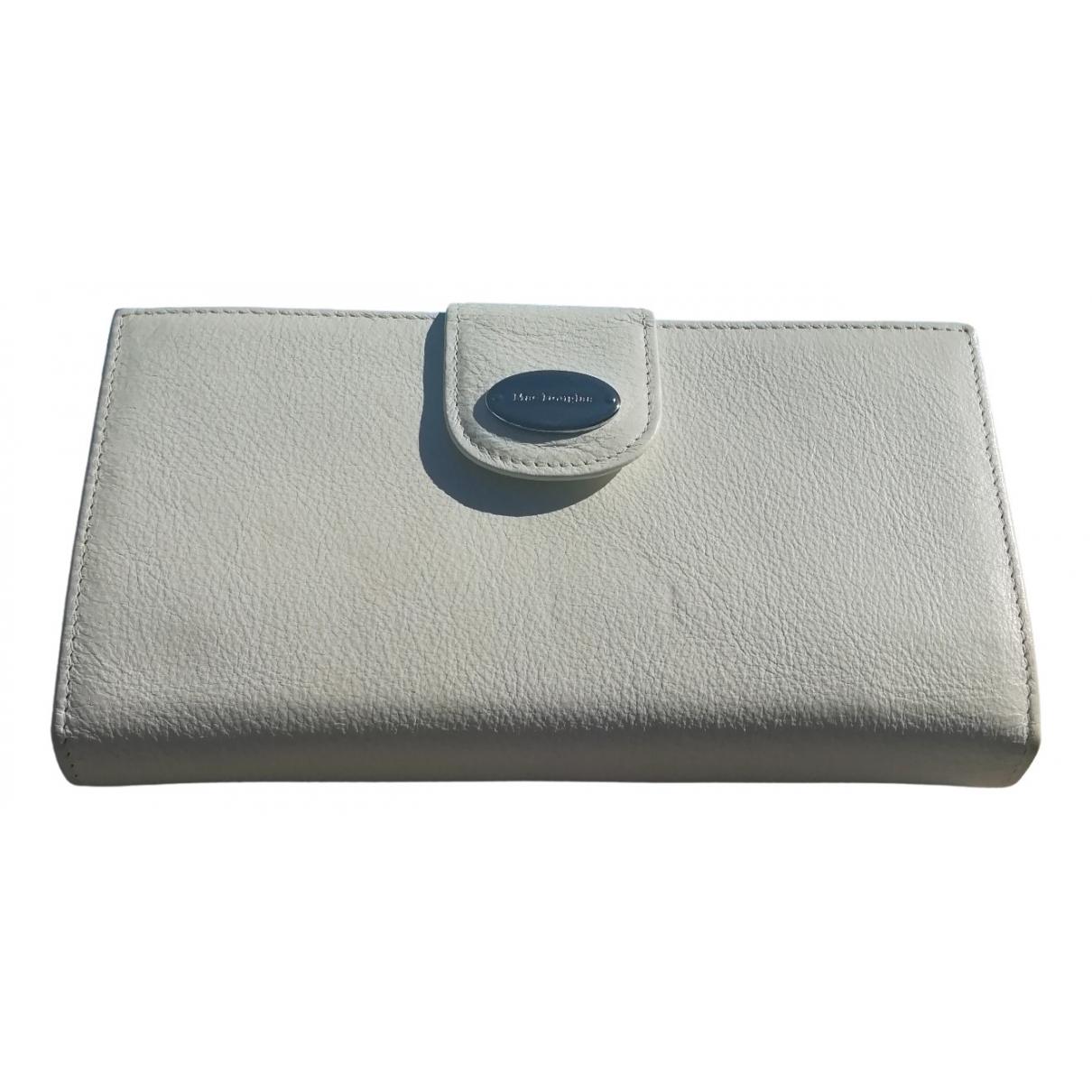 Mac Douglas \N White Leather Purses, wallet & cases for Women \N