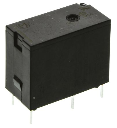 Panasonic , 24V dc Coil Non-Latching Relay SPDT, 10A Switching Current PCB Mount