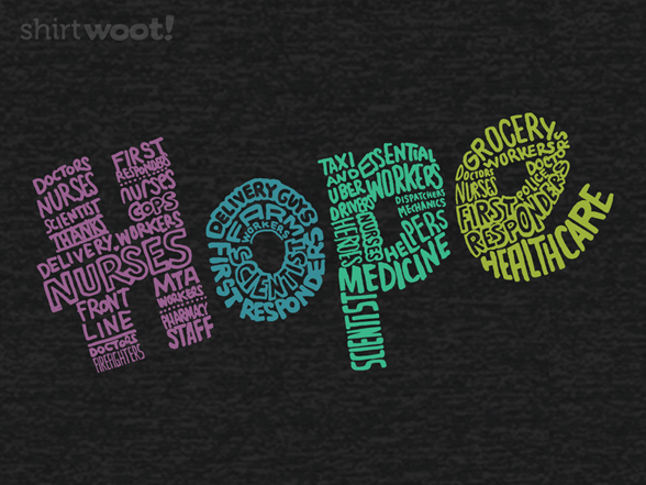 Thank You For Hope T Shirt
