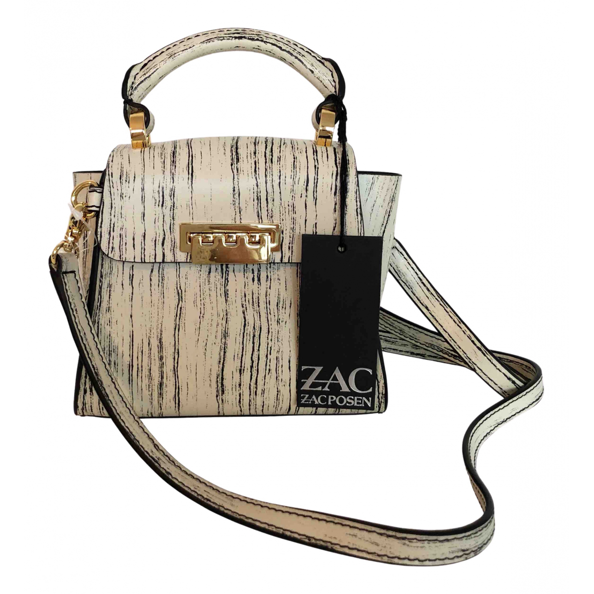 Zac Posen \N Handtasche in  Beige Leder