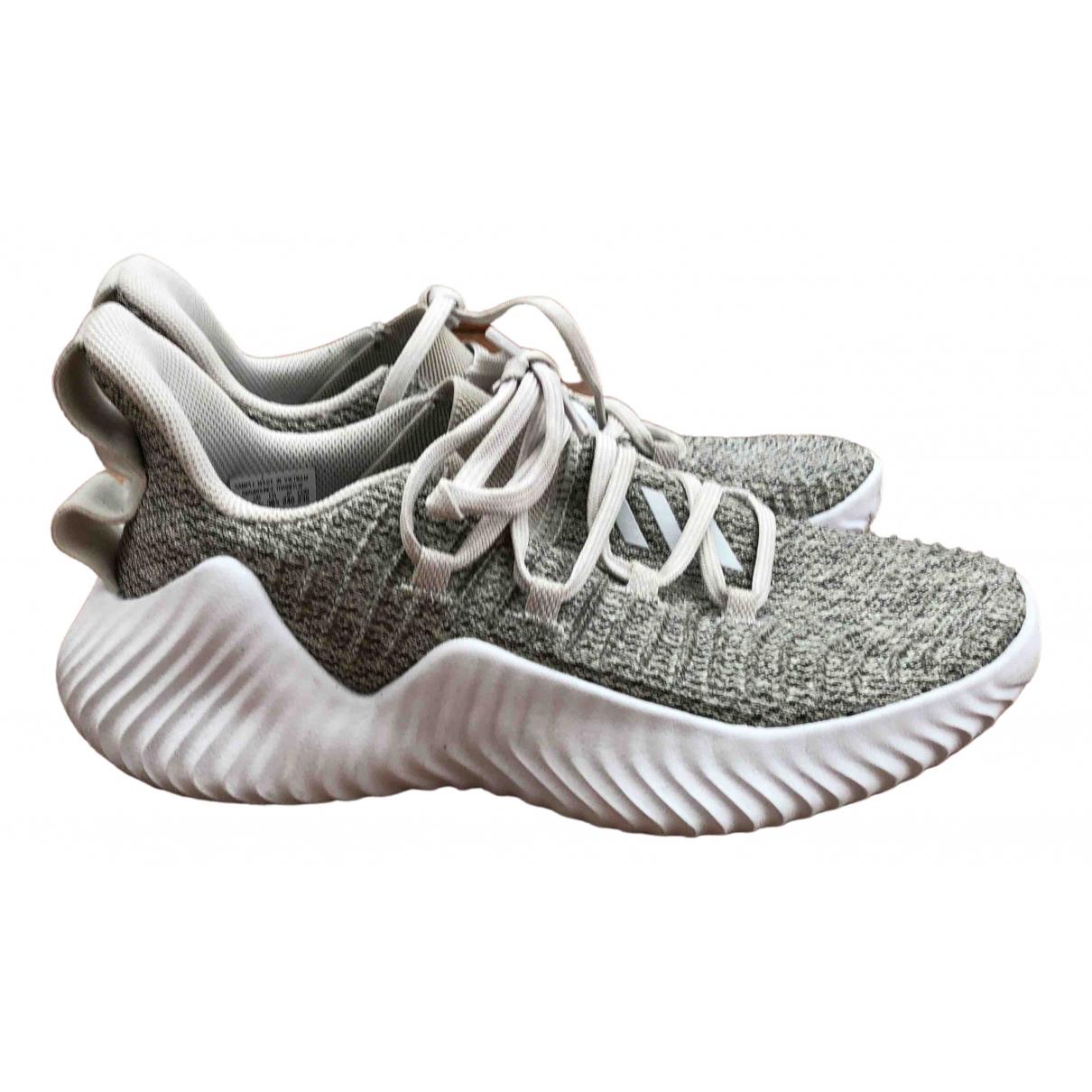 Adidas N Grey Cloth Trainers for Women 7 US