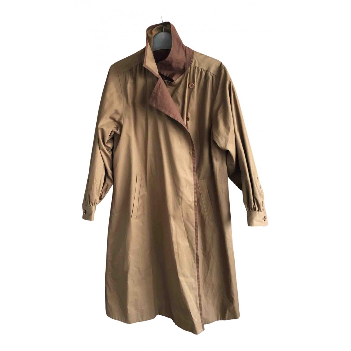 Yves Saint Laurent - Trench   pour femme en coton - beige