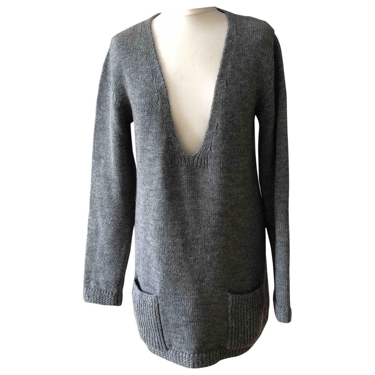 Chloe \N Pullover in  Grau Wolle