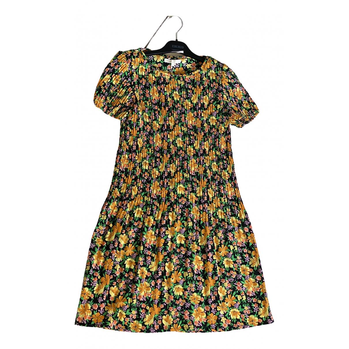 Maje Spring Summer 2019 Yellow dress for Women 36 FR