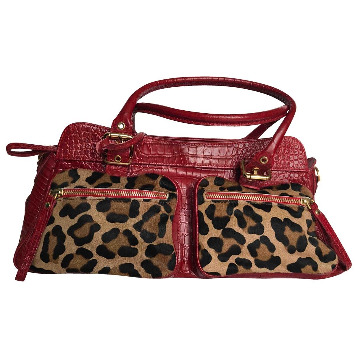 Luciano Padovan \N Handtasche in  Rot Leder