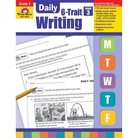 Evan Moor® Daily 6-Trait Writing Book, Grade 3 By Evan-Moor Educational Publishers | Michaels®