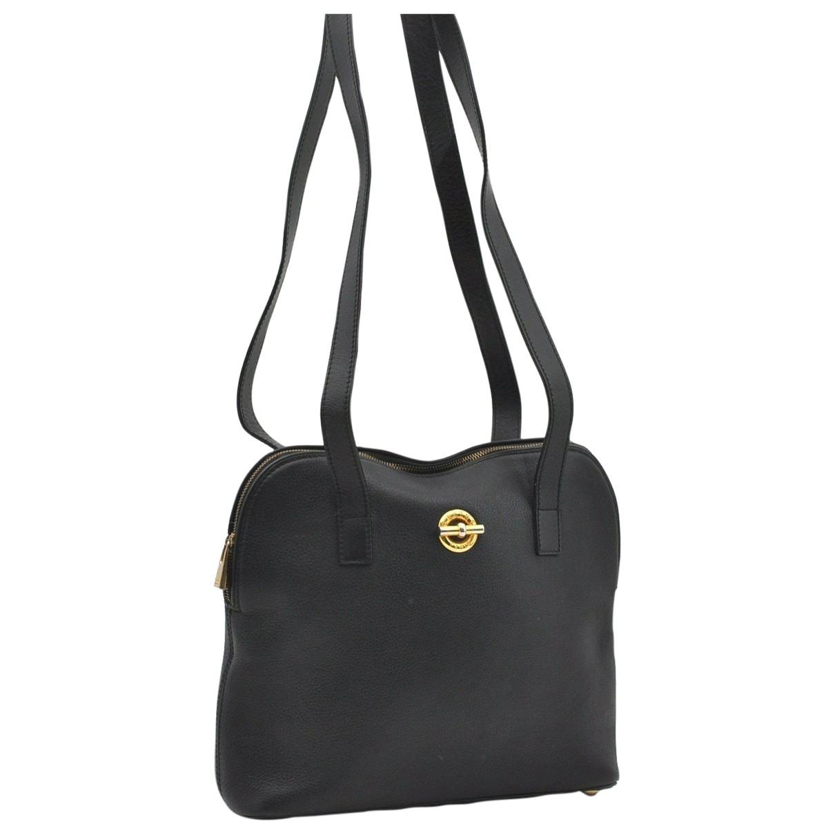 Celine N Black Leather handbag for Women N