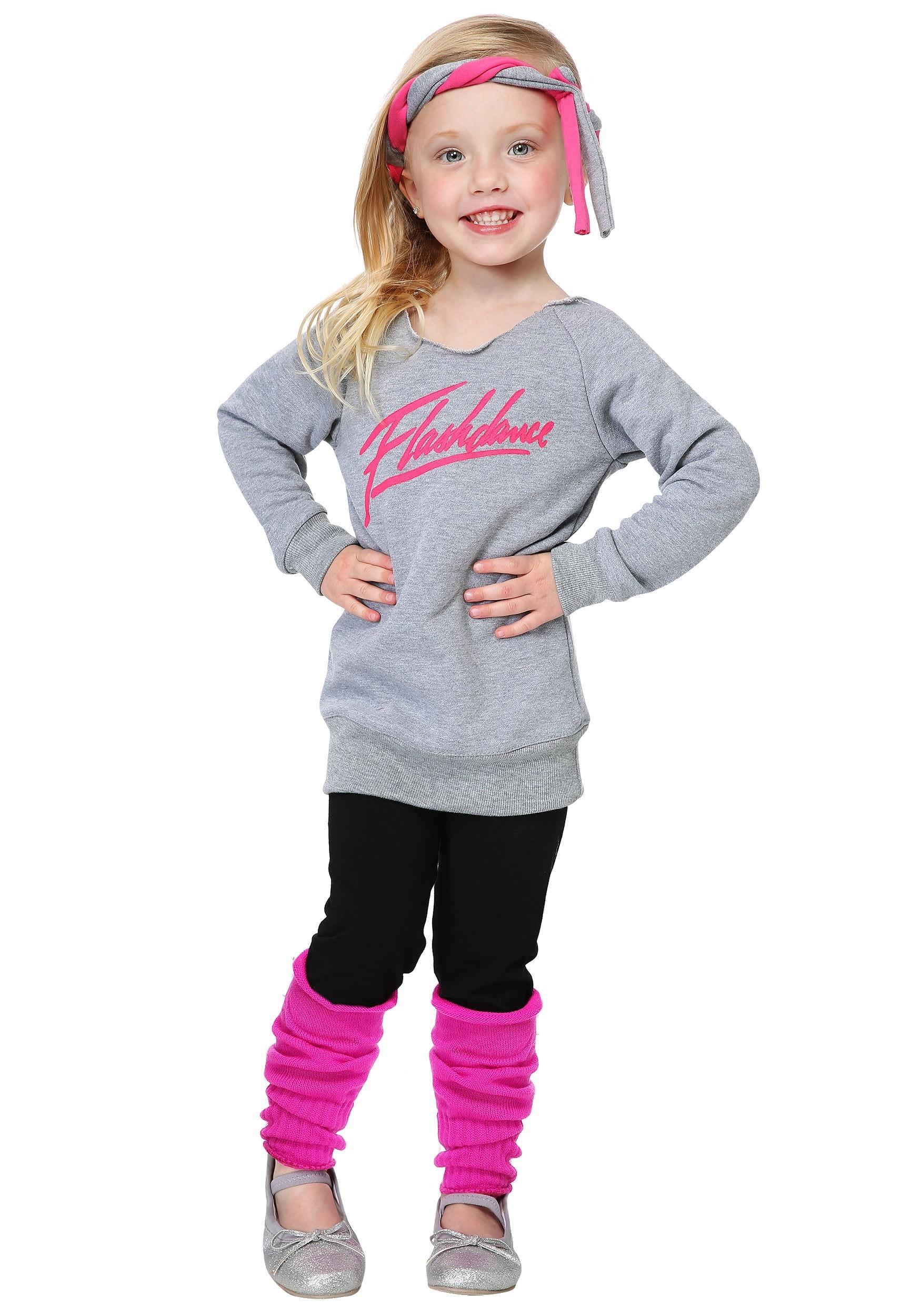 Toddler Flashdance Costume for Girls