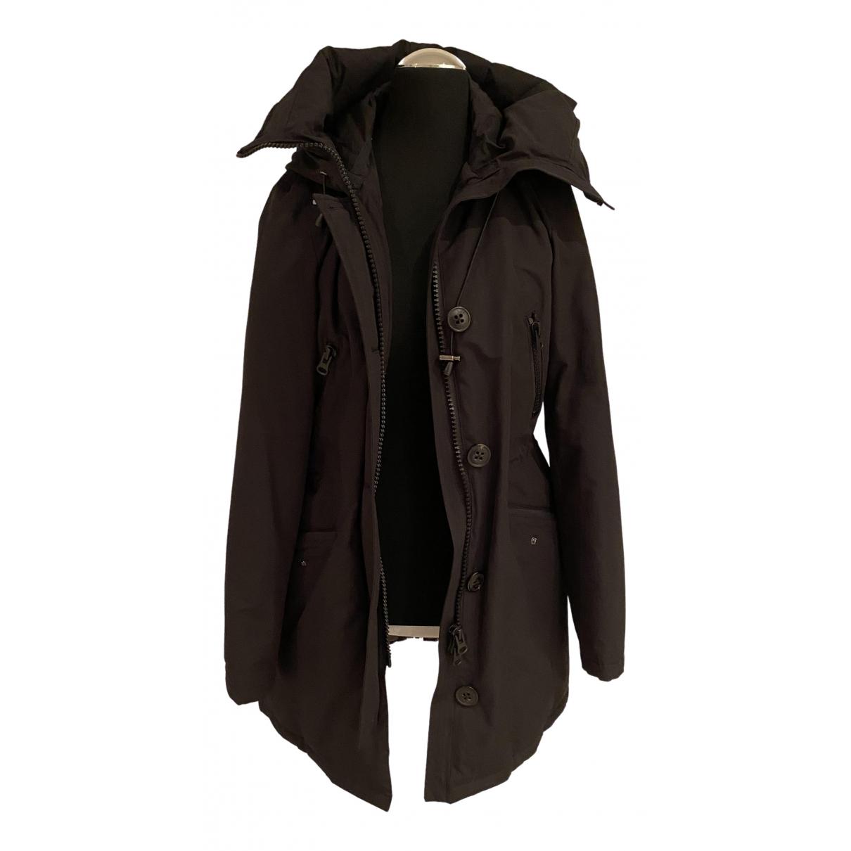 Blonde No.8 - Manteau   pour femme en coton - noir