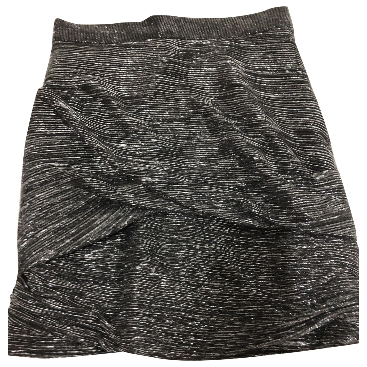 Maje \N Silver skirt for Women 38 FR