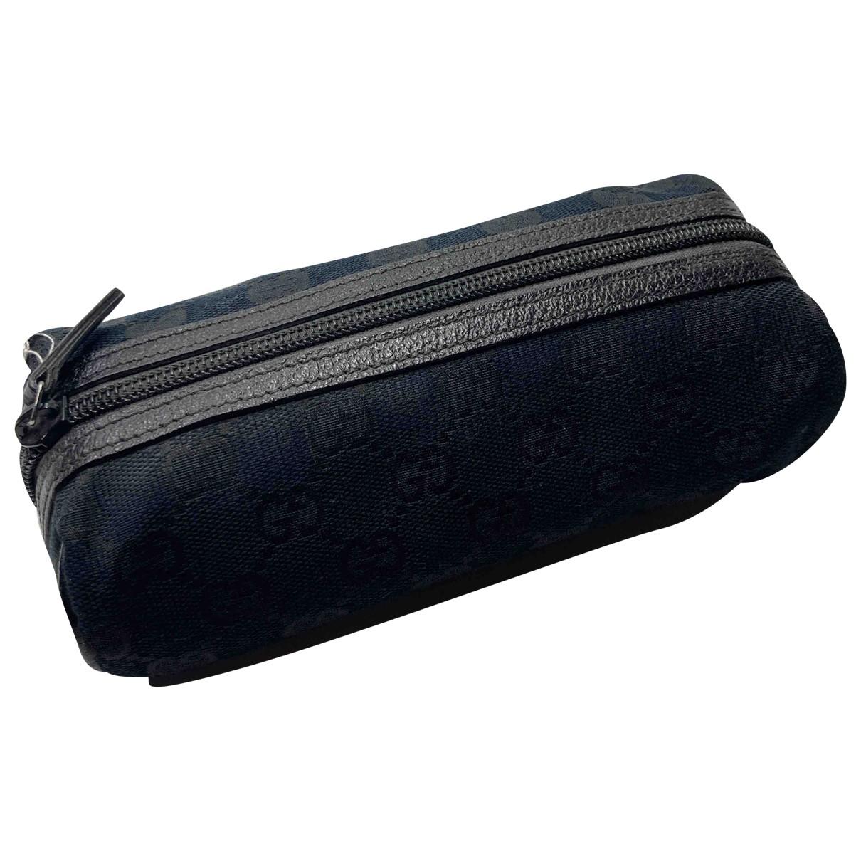 Gucci - Sac de voyage   pour femme en toile - noir