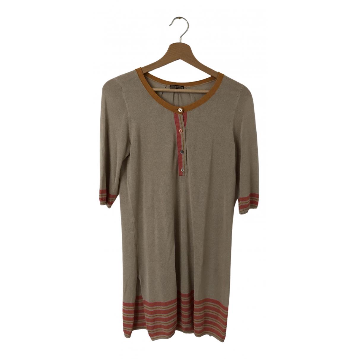 Maliparmi - Pull   pour femme en coton - beige