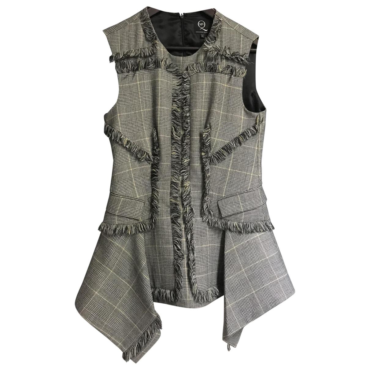 Mcq \N Grey Wool  top for Women 42 IT