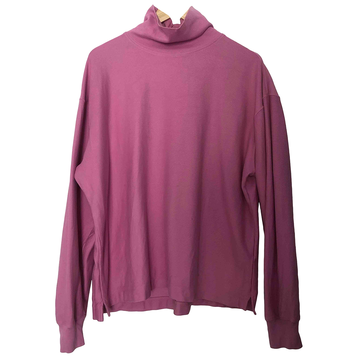 Lemaire \N T-Shirts in  Rosa Baumwolle