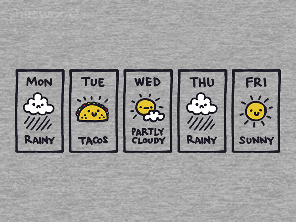 Partly Tacos T Shirt