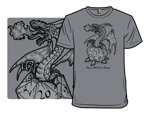 Birth Of A Dragon T Shirt