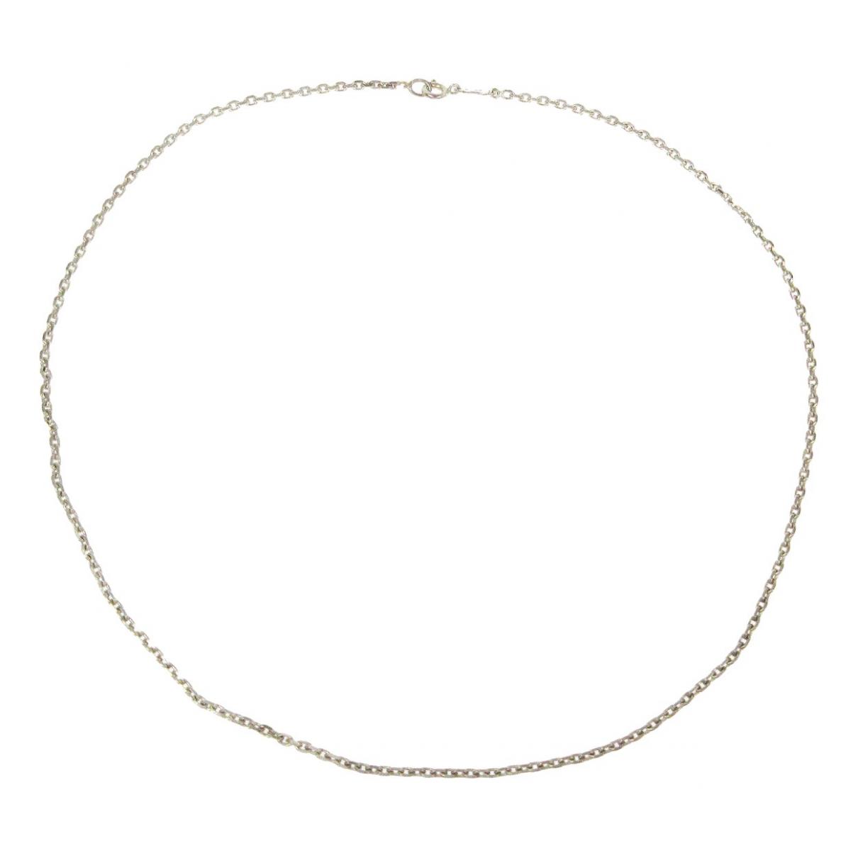 Hermes \N Kette in  Silber Silber