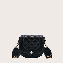 Quilted Saddle Bag