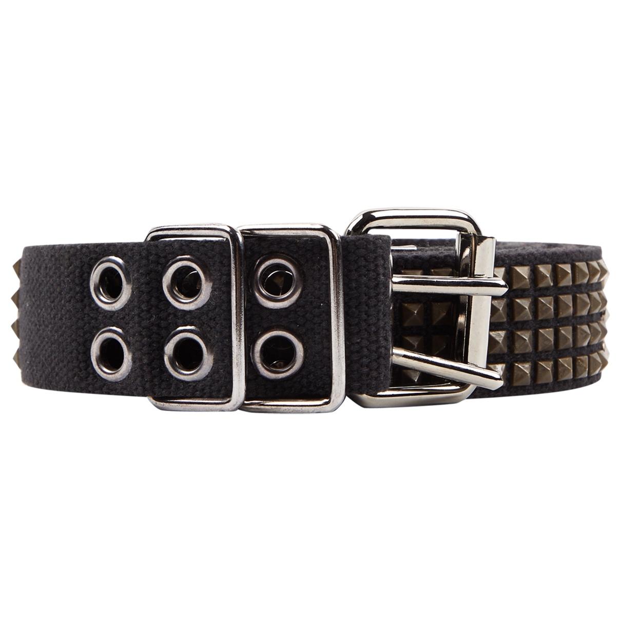 Balmain \N Black Cloth belt for Women XS International