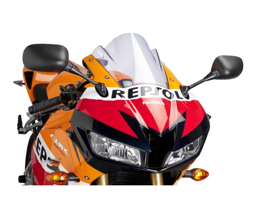 Puig 6478W Z-Racing Windscreen - Clear Honda CBR600RR 2013
