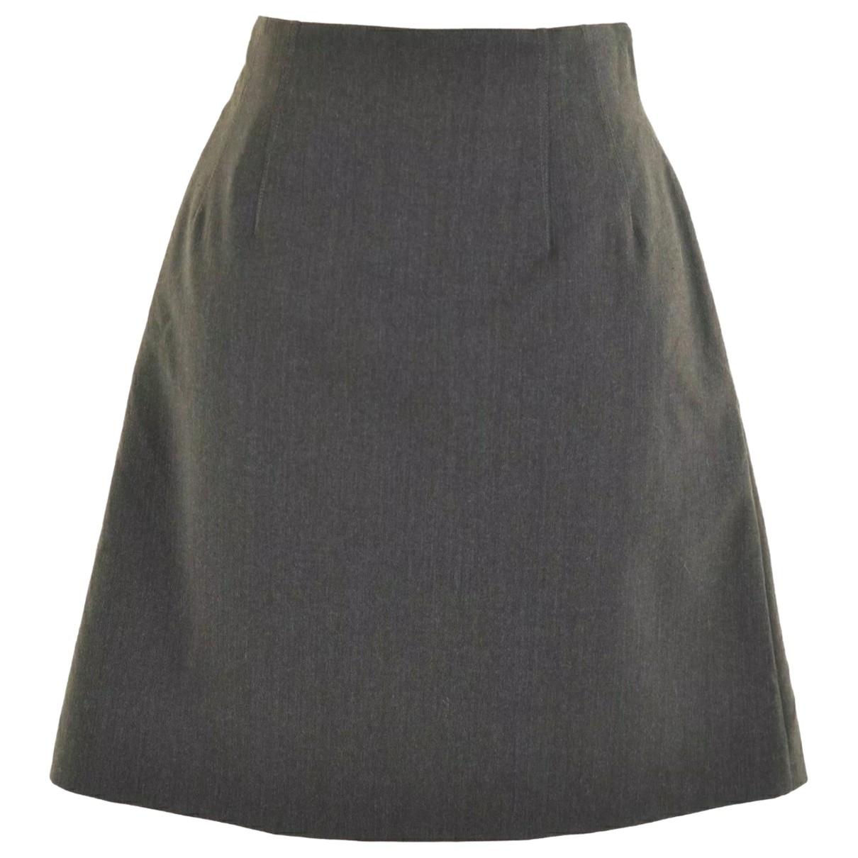 Cacharel - Jupe   pour femme en laine - marron