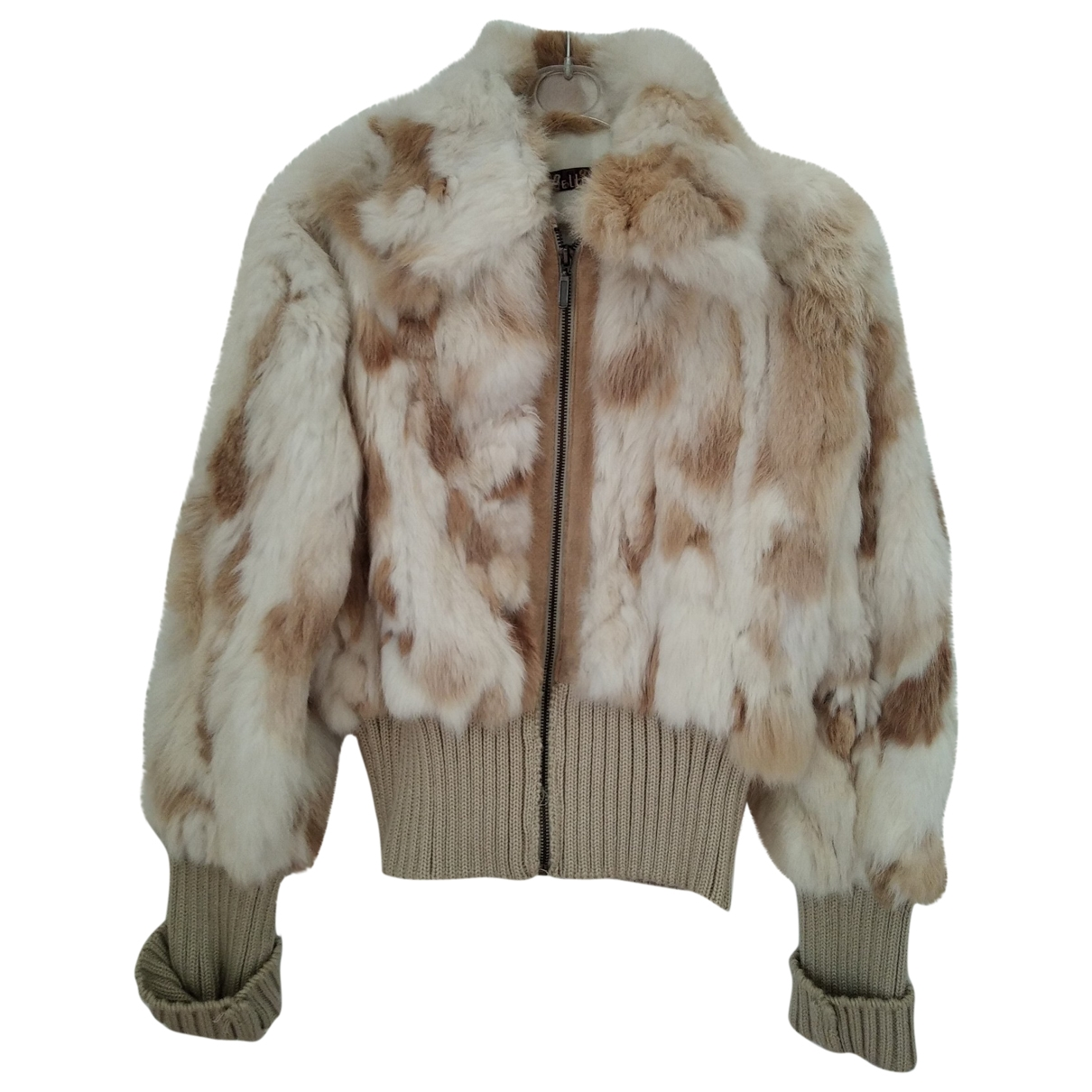 Non Signé / Unsigned \N Beige Rabbit jacket for Women M International