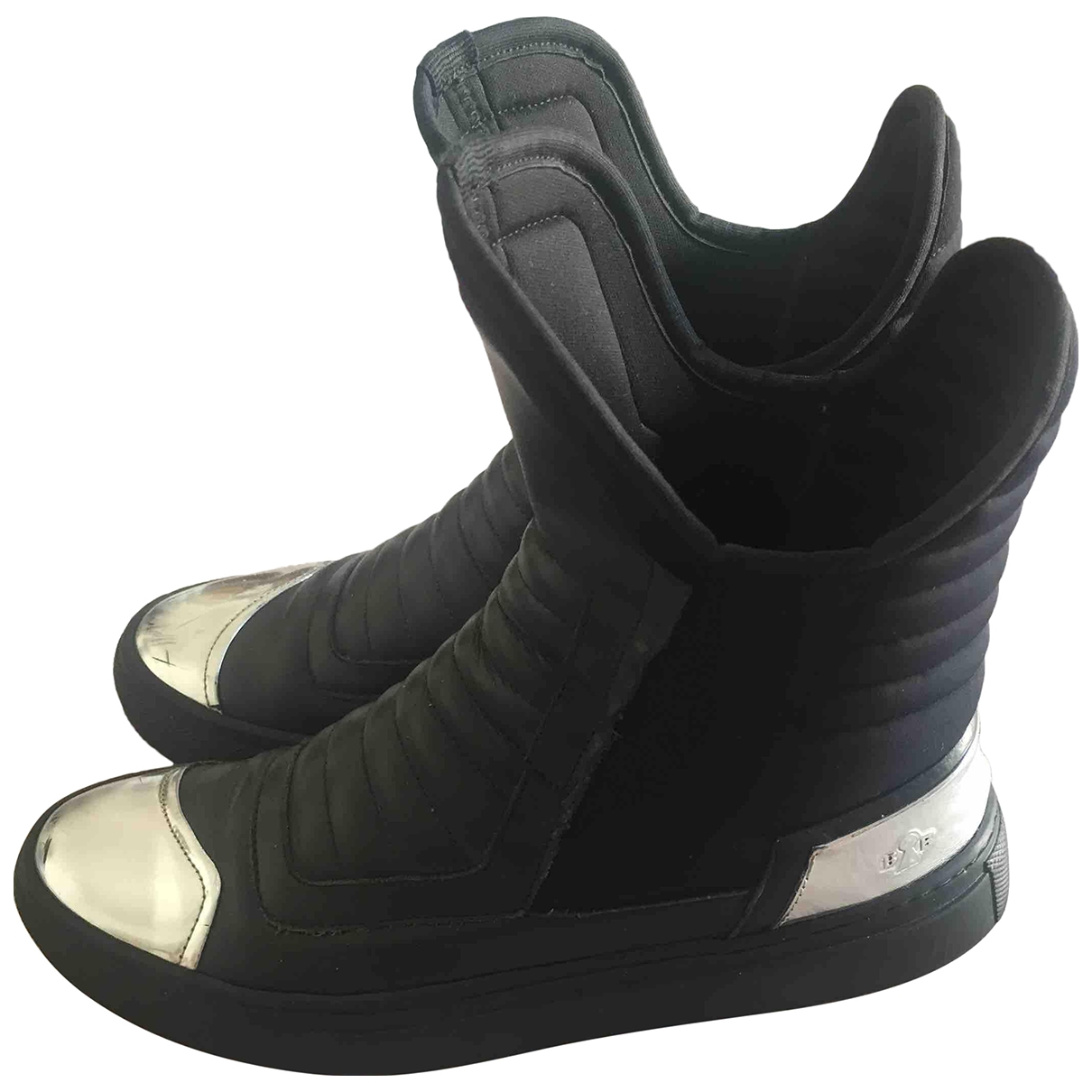 Bruno Bordese \N Black Leather Ankle boots for Women 35 EU