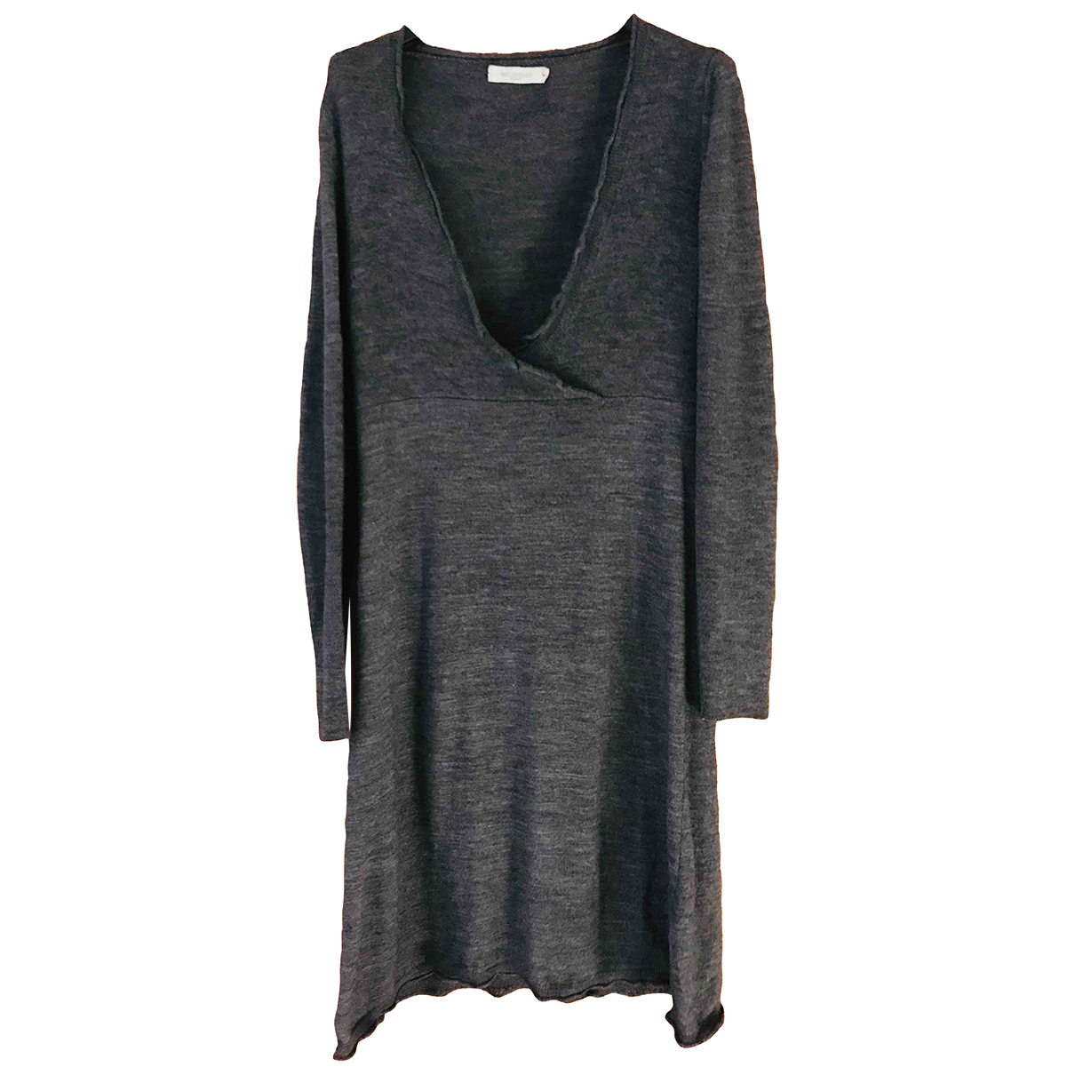Emilio Pucci \N Anthracite Wool dress for Women 44 IT