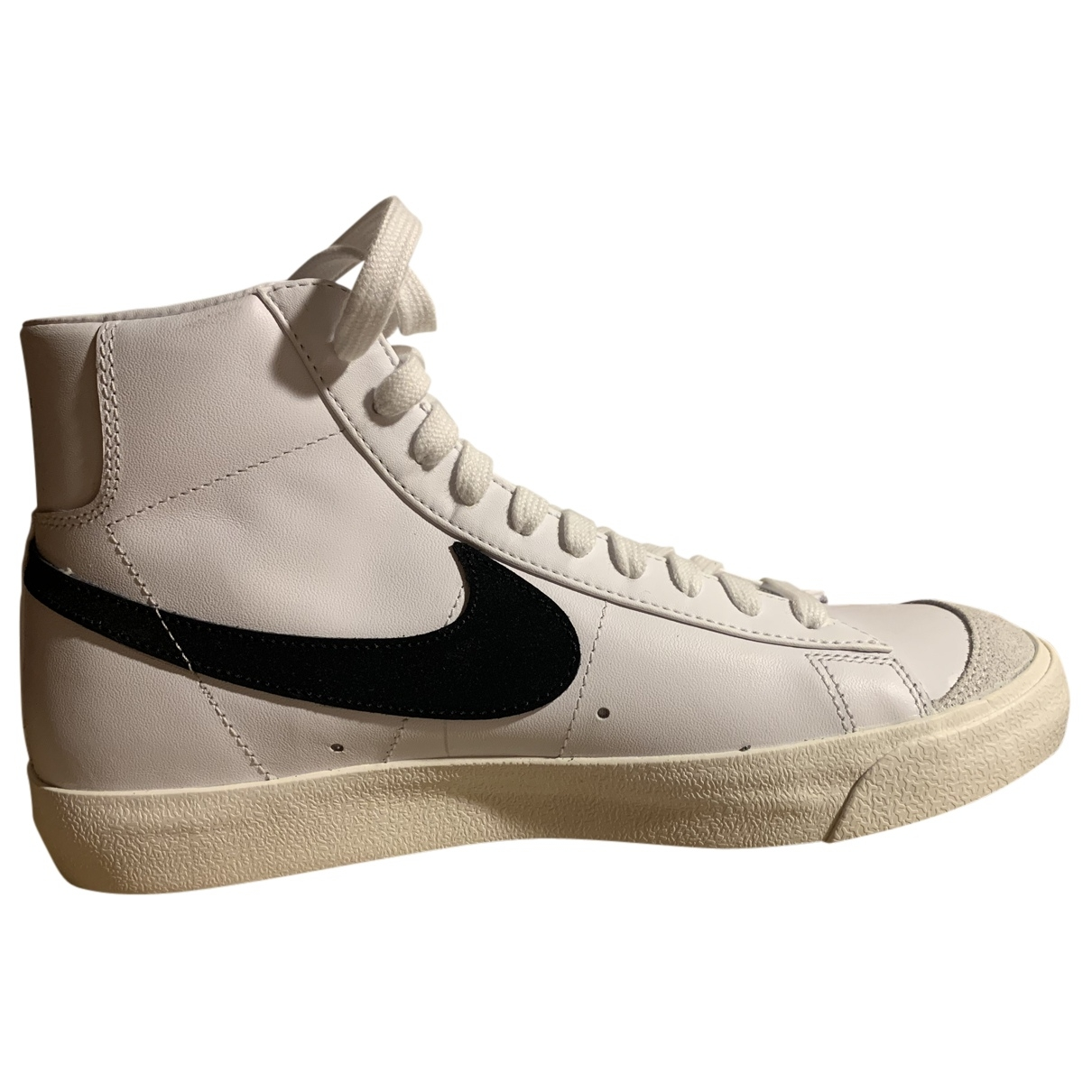 Nike Blazer White Leather Trainers for Women 41 IT