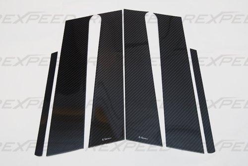 Rexpeed R86 Carbon Fiber Pillar Trim Mitsubishi EVO 10