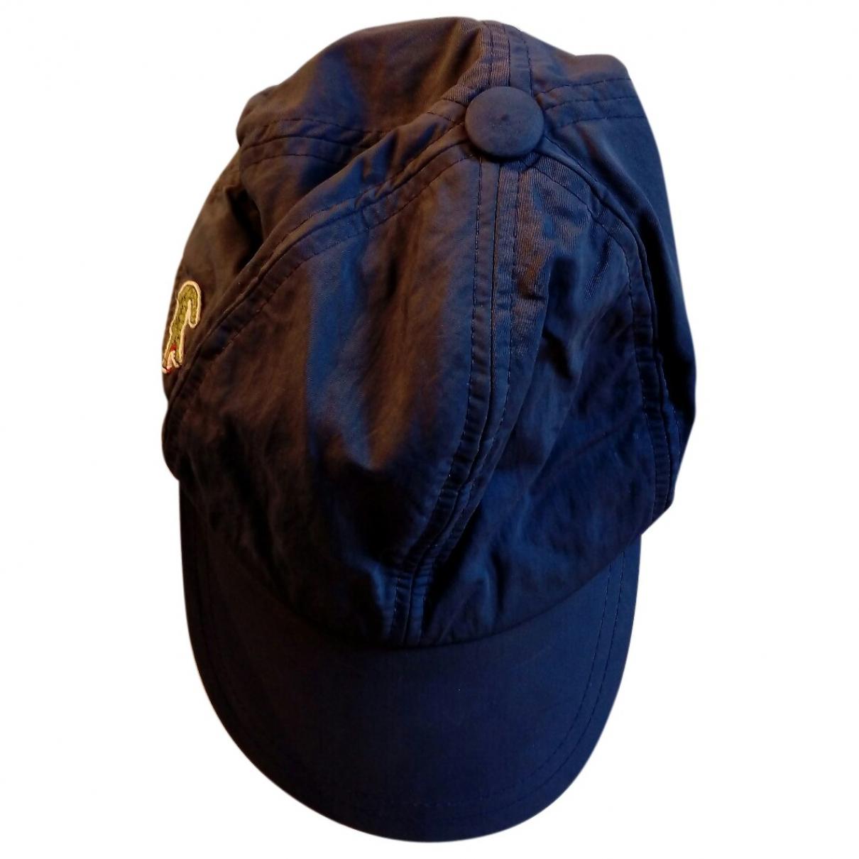 Lacoste \N Hut, Muetzen in  Blau Baumwolle