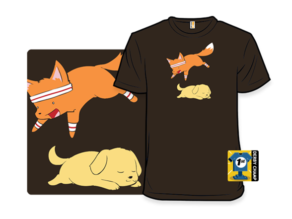 The Quick Brown Fox T Shirt