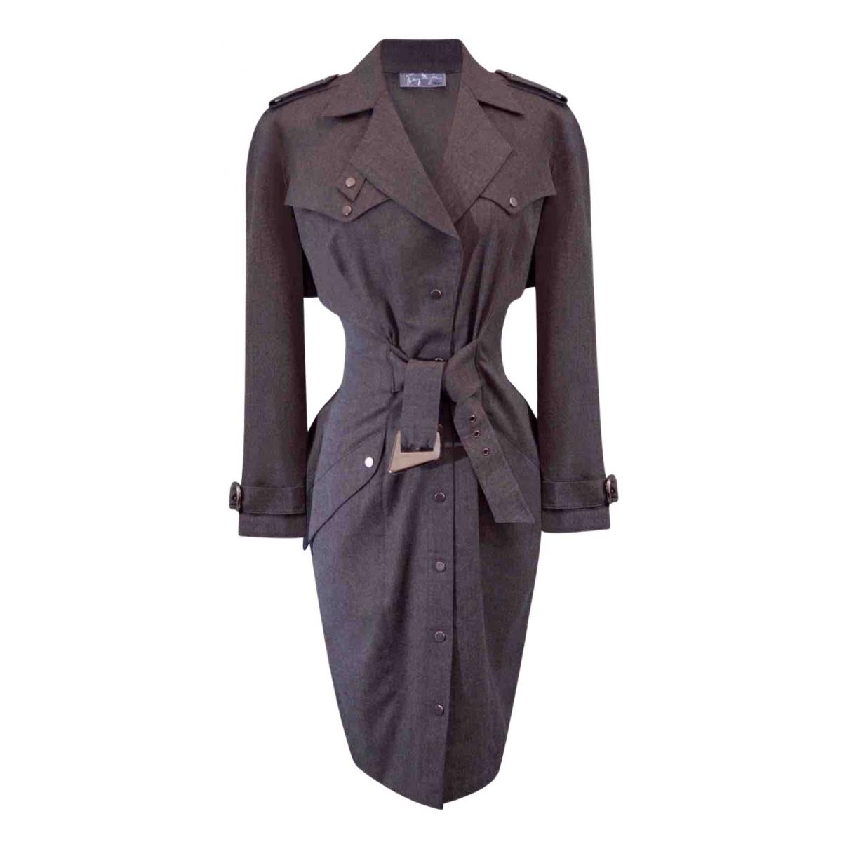 Thierry Mugler - Robe   pour femme en laine