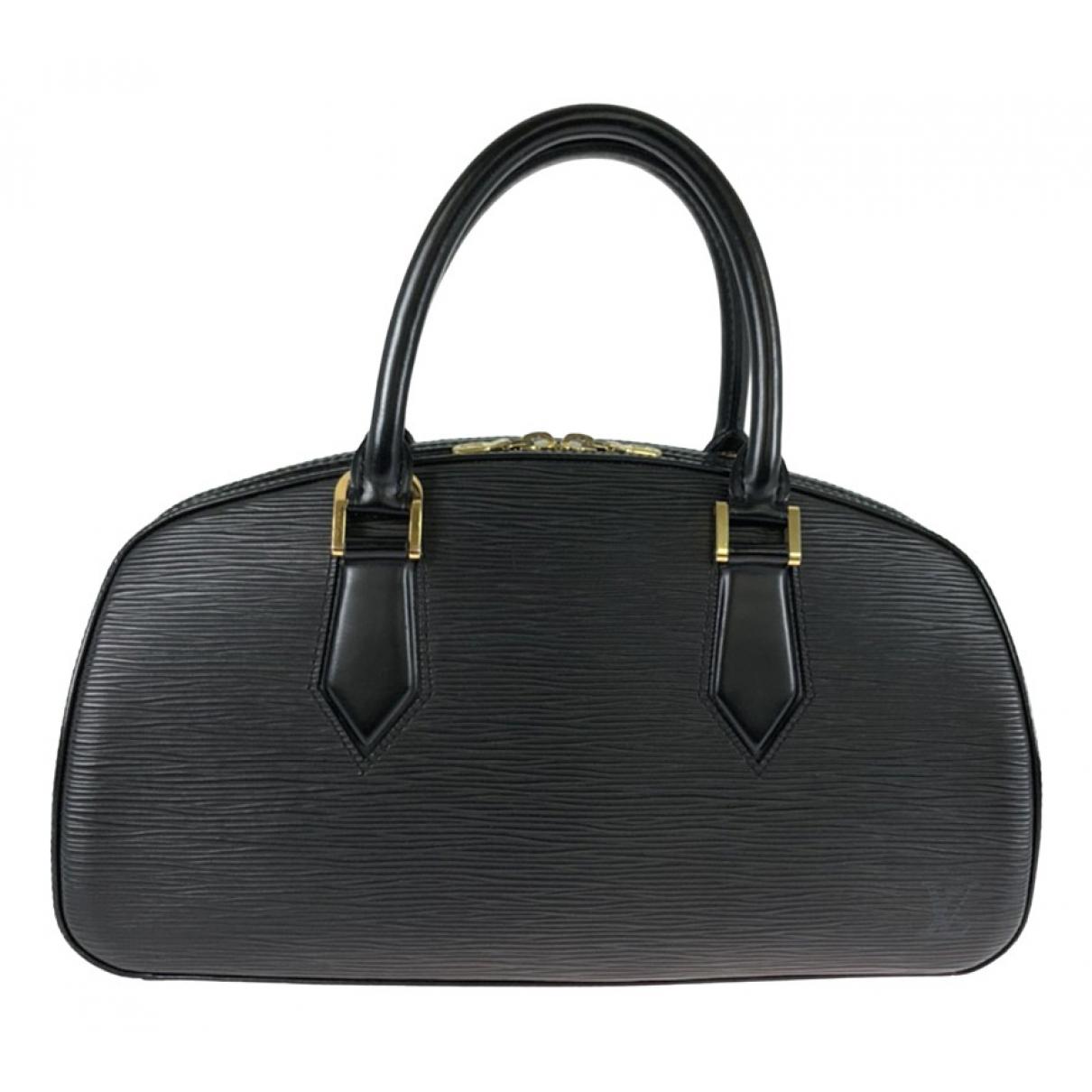 Louis Vuitton - Sac a main Jasmin pour femme en cuir - noir