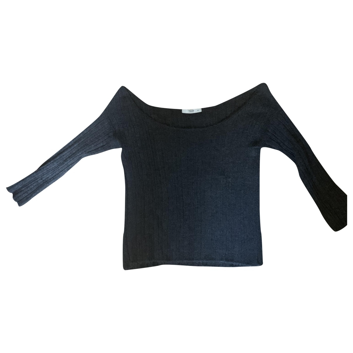 Prada \N Anthracite Cashmere Knitwear for Women 42 IT