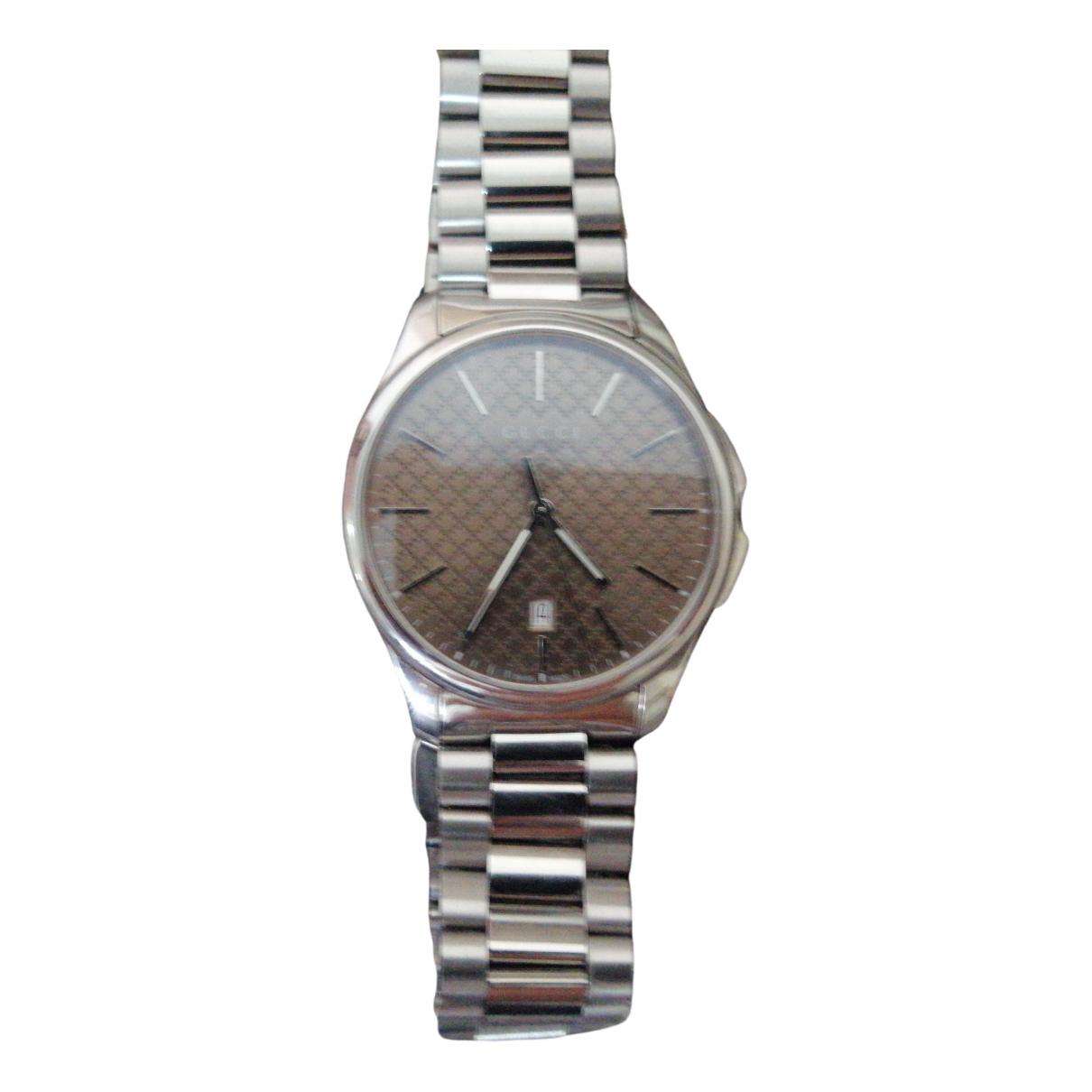 Gucci \N Steel watch for Men \N